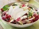 Herbstsalat mit Birnen und Mandeln Rezept
