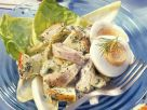 Herings-Kartoffel-Salat mit Äpfeln und Ei Rezept