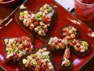 Heringssalat-Häppchen Rezept