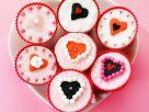 Herz-Cupcakes Rezept