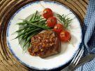 Hirschsteaks mit Schalottensauce und Gemüse Rezept