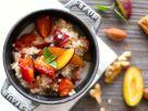 Hirsebrei mit Obst und Walnüssen Rezept