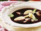 Holunderbeerensuppe mit Nockerl Rezept
