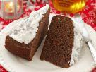 Honigkuchen mit Baiser Rezept