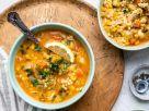 Hühner-Gemüse-Suppe mit Zitrone Rezept
