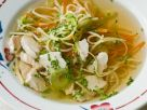 Hühner-Gemüsesuppe mit Nudeln Rezept