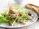 Hühnersalat mit Trauben und Joghurt Rezept