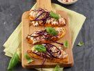Hüttenkäse-Aufstrich auf Süßkartoffel-Toast Rezept