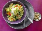 Indische Reis-Gemüse-Pfanne Rezept
