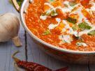 Indischer Paneer-Käse in Tomatensoße Rezept