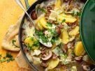 Jägertopf mit Hackfleisch, Champignons und Kartoffeln Rezept