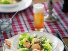 Jakobsmuschelsalat mit Bierdressing Rezept