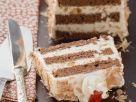 Joghurt-Schokoladenkuchen mit Keksen Rezept