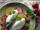 Joghurtmousse mit Erdbeeren Rezept