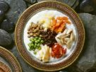 Joghurtsalat mit Gemüse und Ginseng auf tibetische Art Rezept