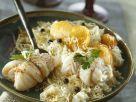 Kabeljaurouladen mit Sauerkraut, Kartoffeln und Kren Rezept