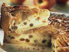 Käse-Apfelkuchen mit Rosinen Rezept