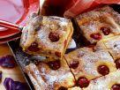 Quark-Grieß-Kuchen mit Kirschen Rezept