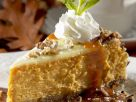 Käse-Kürbis-Kuchen mit Nüssen Rezept