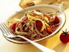 Käse-Wurst-Salat mit Tomaten Rezept