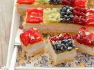 Käsekuchen mit Obst Rezept