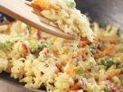 Käsespätzle mit Gemüse Rezept