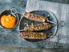 Kafta-Kebabs mit Muhammara-Sauce Rezept
