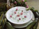 Kalte Gurkencremesuppe Rezept