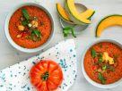 Kalte Tomaten-Melonen-Suppe Rezept