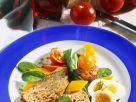 Kalter Hackbraten mit Salat Rezept