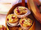 Kamut-Cranberrymuffins mit Mandeln Rezept