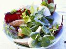 Kaninchenfilet mit Salat Rezept