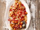 Karpfen mit Granatapfel und Zitronen-Honig-Sauce Rezept