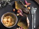 Karpfenfilet mit Karamelltrauben für den Thermomix® Rezept