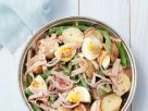 Kartoffel-Bohnensalat mit Ei Rezept