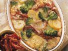 Kartoffel-Brokkoliauflauf mit Kassler Rezept