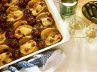 Kartoffel-Champignon-Gratin mit Zwiebeln Rezept