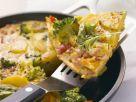 Kartoffel-Omelett mit Gemüse Rezept