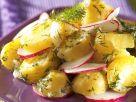Kartoffel-Radieschen-Salat mit Dill Rezept