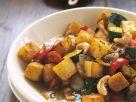 Kartoffel-Zucchini-Curry mit Cashews Rezept