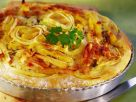 Kartoffel-Zwiebel-Tarte mit Äpfeln Rezept