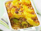 Kartoffelgratin mit Hackfleisch und Lauch Rezept