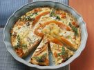Kartoffelgratin mit Kürbis und Feta Rezept