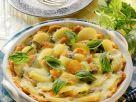 Kartoffelgratin mit Möhren Rezept