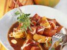 Kartoffelgulasch mit Kürbis und QuimiQ Rezept