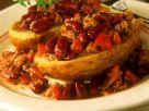 Kartoffeln mit Chili con carne Rezept
