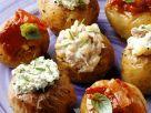 Kartoffeln mit Frischkäsefüllungen Rezept