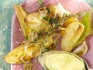 Kartoffeln mit Knoblauchdip Rezept