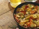 Kartoffelpfanne mit Pilzen und Bacon Rezept