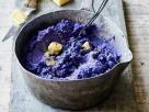 Kartoffelpüree von blauen Kartoffeln Rezept